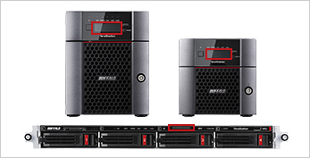 10GbE standard equipped TeraStation 8-Bay NAS Device for